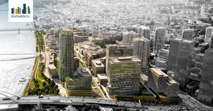 Vizualizácia rozšírenia projektu Eurovea. Zdroj - J&T Real Estate