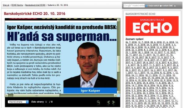 Rečou Kašpera, hľadá sa superman a Kašper to nie je. Hľadá sa slušný človek.