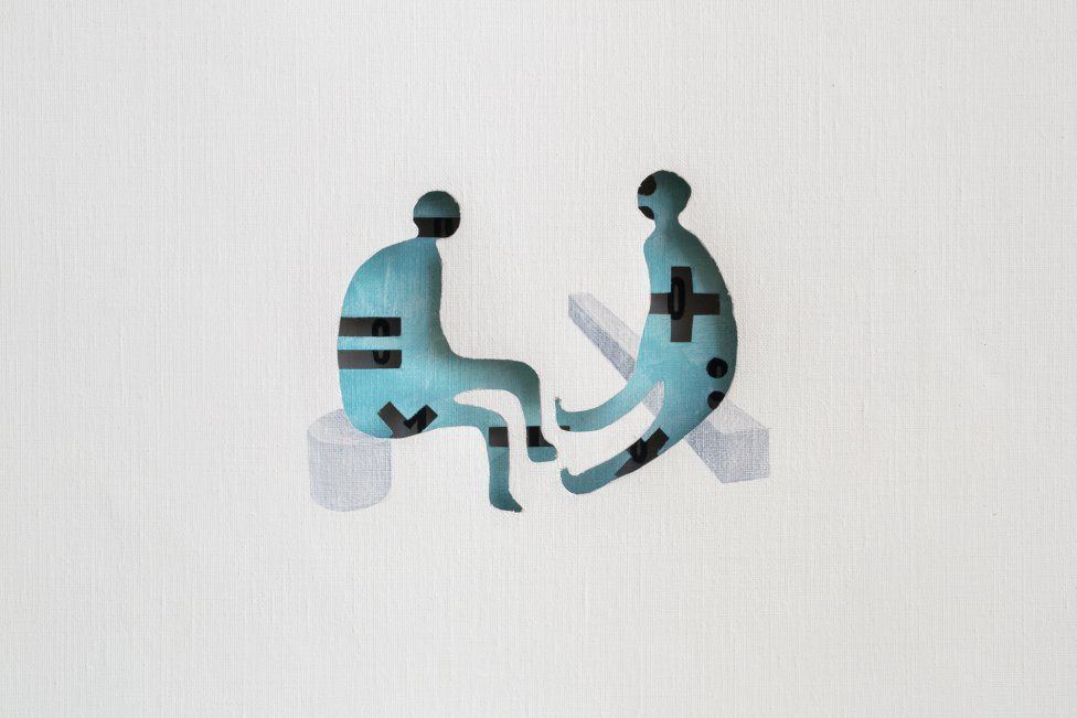 Detail diela Martina Knuta. Foto - Vladimír Eliáš