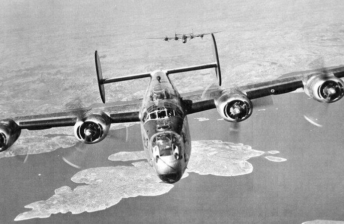 B-24 Liberator. Foto - Wikipédia