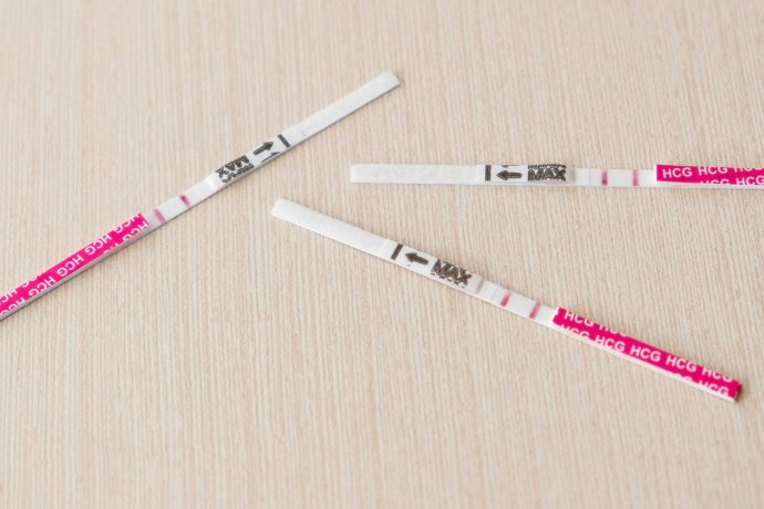Tehotenský test. Ilustračné foto - Fotolia