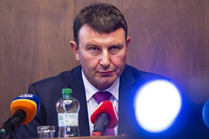 Bývalý prezident finančnej správy František Imrecze. Foto - TASR