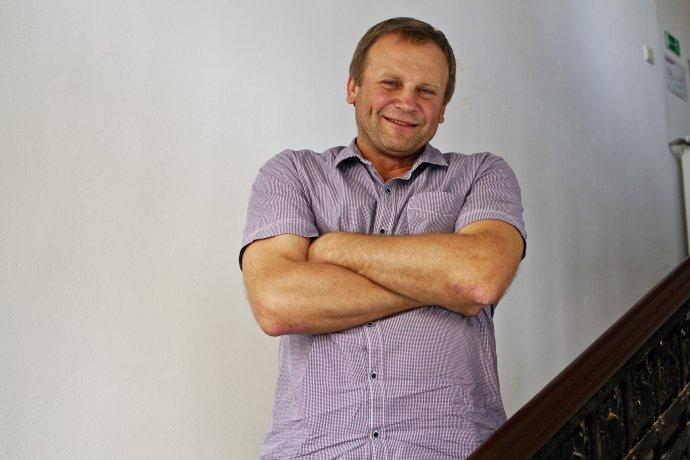 Starosta Spišského Hrhova Vladimír Ledecký. Foto N –Andrej Bán