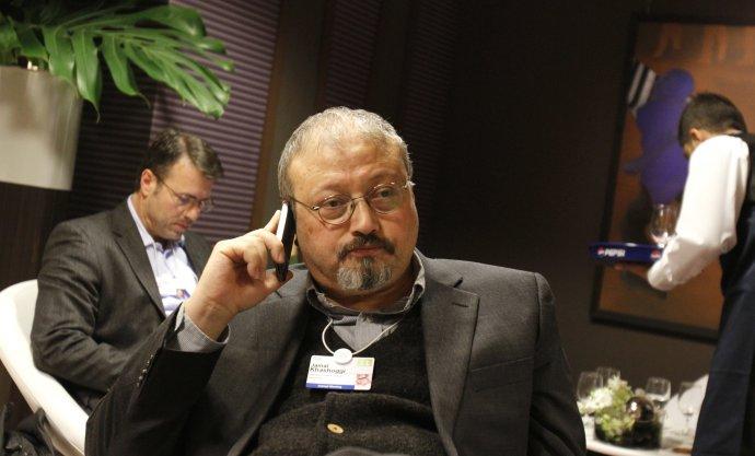 Novinár Džamál Chášukdží patril ku kritikom saudskej vládnucej rodiny. Žil v USA. Foto - TASR/AP