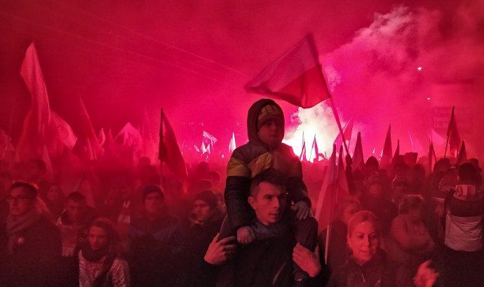 Varšava, 11. 11. 2018. Foto - Tomáš Forró