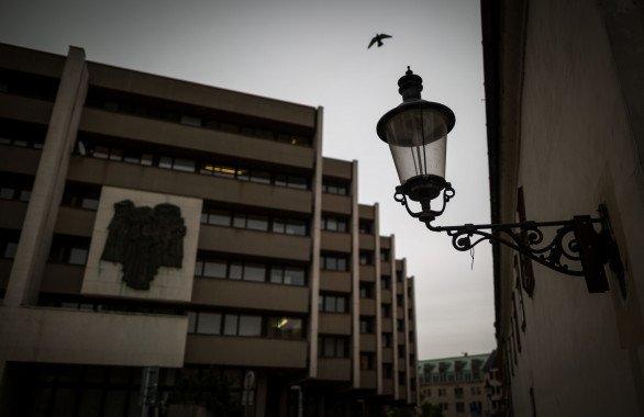 Sídlo Najvyššieho súdu. Foto N – Tomáš Benedikovič
