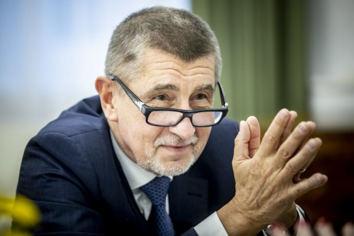 Andrej Babiš. Foto - Deník N/Gabriel Kuchta