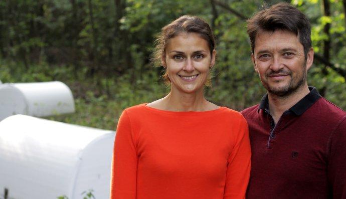 Pavla Klečková a Manu Chilaud. Foto - archív iglou.