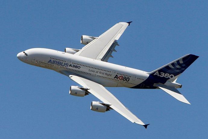 Najväčšie civilné európske lietadlo A380 sa bude napokon vyrábať len menej než dvadsať rokov. Foto - TASR/AP