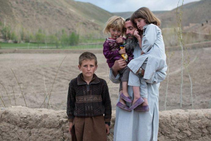 Sergej Krasnoperov našiel v Afganistane novú rodinu, prijal islam a miestny spôsob života. Foto - Alexej Nikolajev