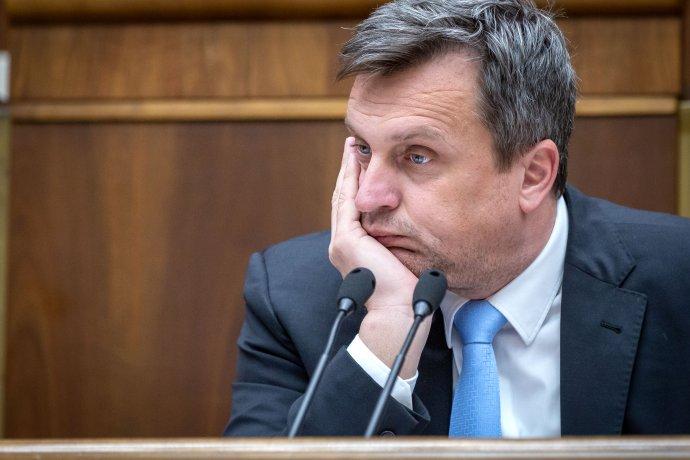 Šéf parlamentu Andrej Danko z SNS. Foto N – Tomáš Benedikovič