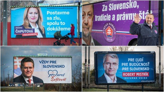 Kampaň je v plnom prúde. Foto N - Tomáš Benedikovič