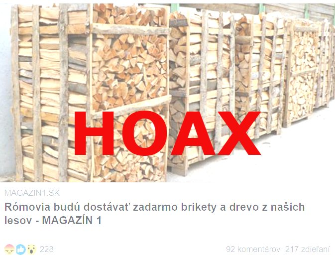 Šíri sa ďalší hoax, ktorý živí nenávisť k Rómom.
