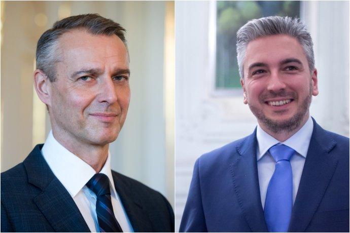 Richard Raši a Rastislava Trnka, súperi o post košického župana v roku 2017. foto N – Tomáš Benedikovič