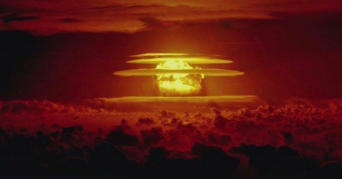 Prvá vodíková bomba, nazvaná Castle Bravo, vybuchla 1. marca 1954. Foto - ministerstvo energetiky USA