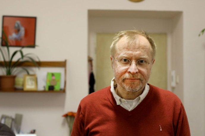 Detský psychiater Peter Pöthe. Foto - Deník N/Ludvík Hradilek