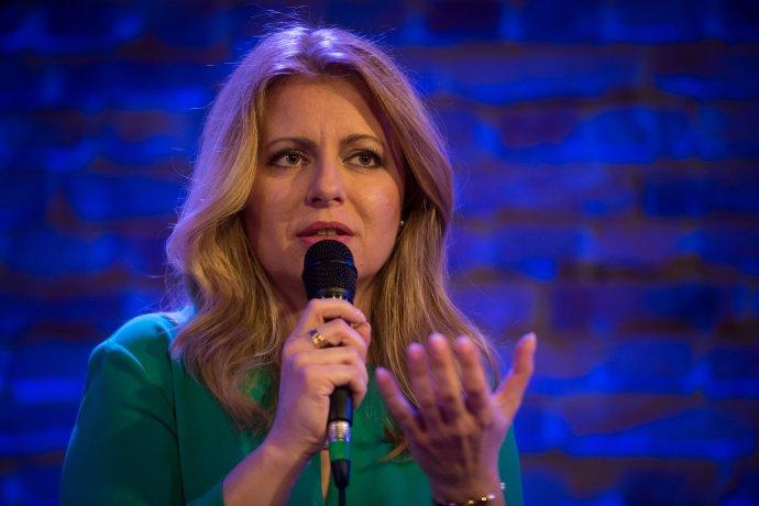 Zuzana Čaputová. Foto N - Vladimír Šimíček