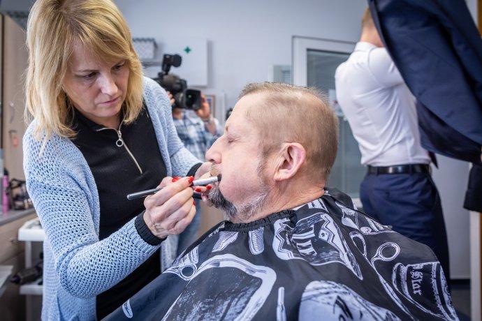 Štefan Harabin pred prezidentskou superdebatou. Foto N - Tomáš Benedikovič