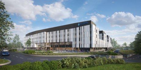 Vizualizácia nemocnice Bory. Zdroj: Penta