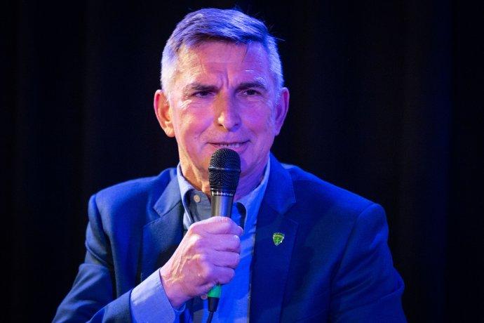 Jozef Antošík na besede Denníka N v roku 2019. Foto N - Tomáš Benedikovič