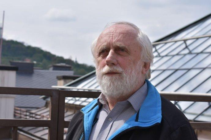 Profesor Pavel Kindlmann sa autorsky podieľal na správe panelu IPBES. Foto - Deník N/Adéla Skoupá