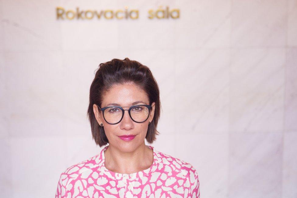 Lucia Ďuriš Nicholsonová. Foto N - Vladimír Šimíček