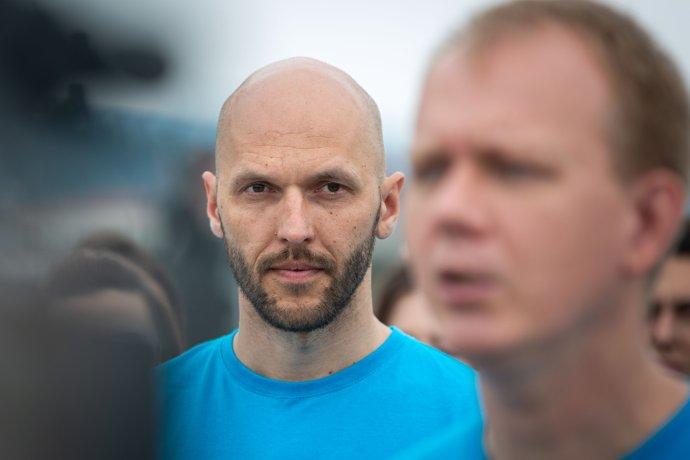 Politici z PS/Spolu už vedia, že väzby ich konzultanta Repu budú musieť vysvetľovať. Foto N - Tomáš Benedikovič