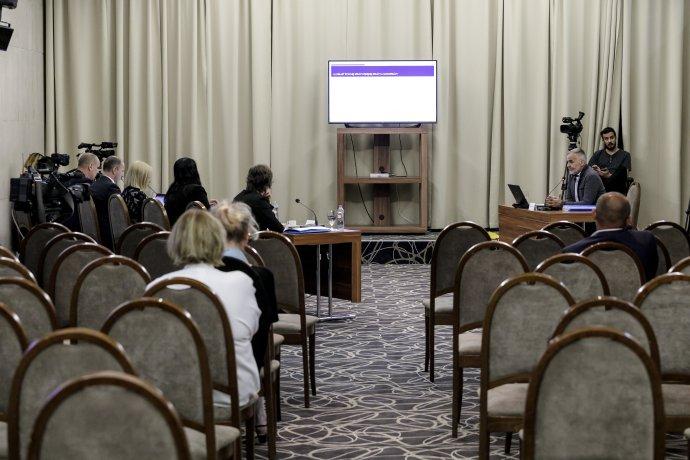 Verejné vypočutie kandidátov na predsedu whistleblowervského úradu. Foto - tasr