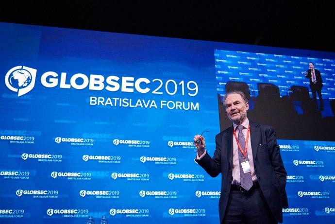 Timothy Garton Ash mal v Bratislave prejav vo štvrtok. Foto - GLOBSEC