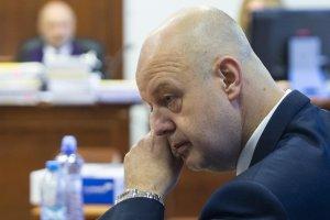 Pavol Rusko na súde v Pezinku 22. júla 2019. Foto - TASR