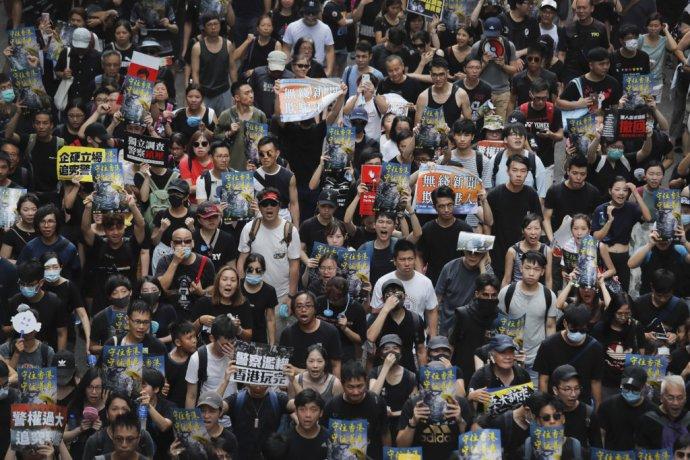 Protesty trvajú už skoro dva mesiace. Foto - TASR/AP