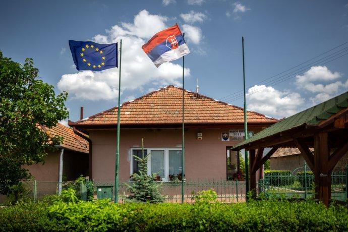 Obecný úrad v Turej. Foto N - Tomáš Benedikovič