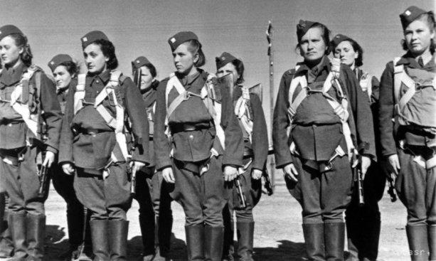 Ženy v 2. československej paradesantnej brigáde