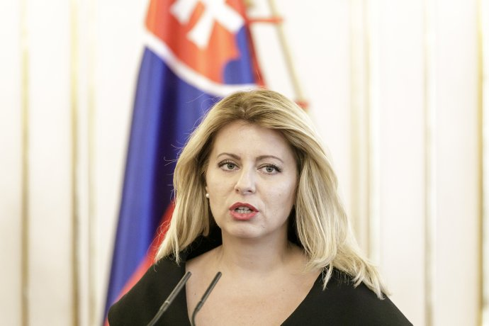 Prezidentka Čaputová. Foto - TASR