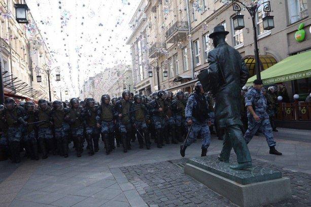 """Prokofijev proti Ruskej garde."" FOTO: Andrej Zolotov/МБХ медиа"