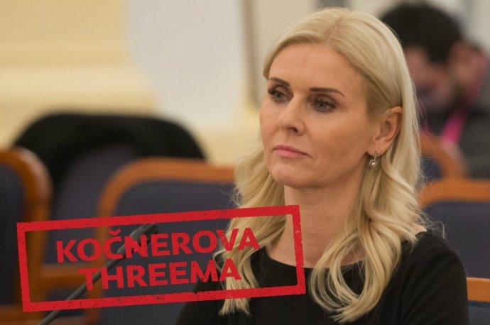 Monika Jankovská, štátna tajomníčka ministerstva spravodlivosti, ktorá kandidovala za Smer.