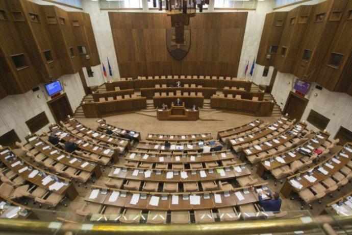 Národná rada. Foto - TASR