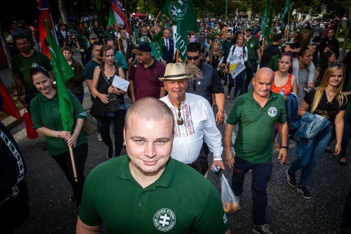 Milan Mazurek na pochode za život. Foto N - Tomáš Benedikovič