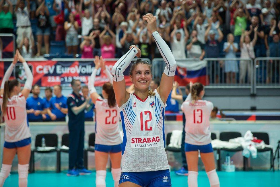 Nikola Radosová. Foto – SVF/Lukáš Jaseňák