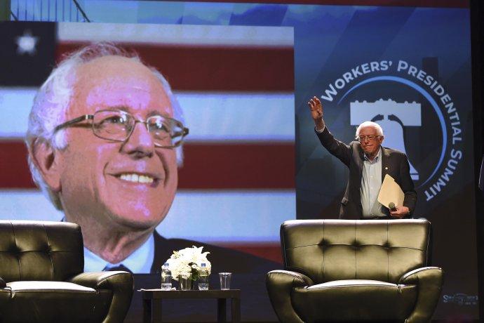 Bernie Sanders. Foto - TASR/AP