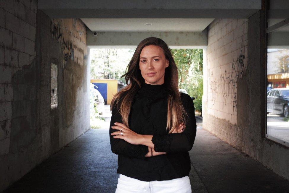 Klaudia Malenovská. Foto - Romana Gulišová