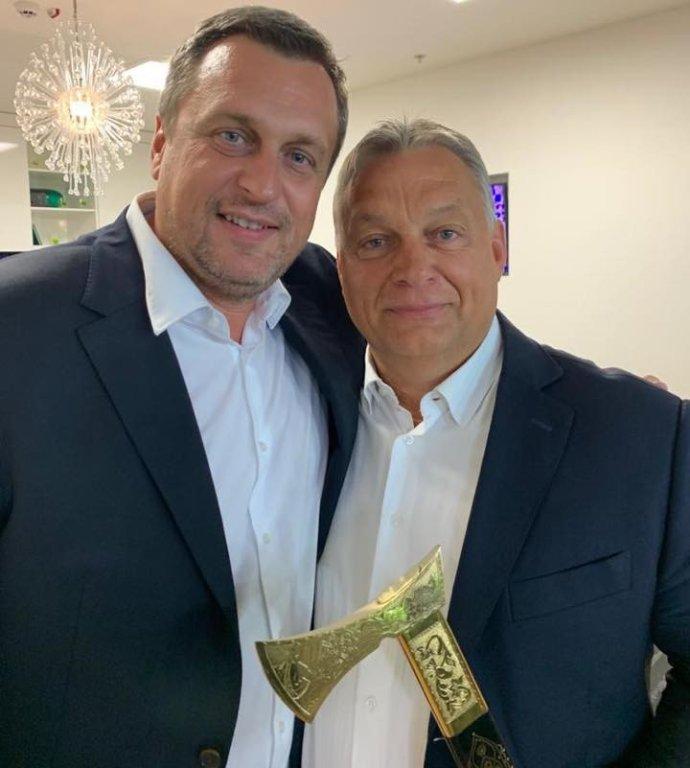Danko a Orbán. Zdroj - facebook Andreja Danka