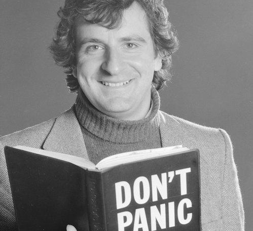 Douglas Adams. Foto - Daily Mirror