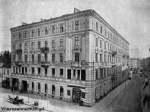 Obchodný dom bratov Országhovcov vo Varšave.