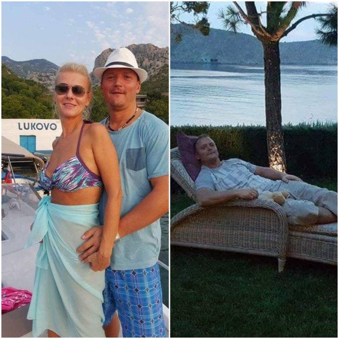 Monika Jankovská s manželom dovolenkovala u Radomíra Bžána v Lukove. Foto - FB Tibora Jankovského