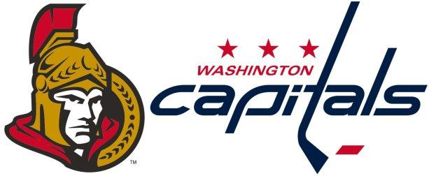 Tímy reprezentujúce hlavné mestá oboch krajín: Ottawa Senators a Washington Capitols. Zdroj – sportslogos.net