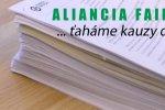 Nástenkový tender - trestné oznámenie Aliancie Fair-play
