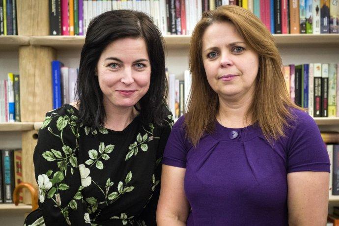 Erika Polgáriová a Eleonóra Liptáková, učiteľky z Dobšinej. Foto N – Vladimír Šimíček
