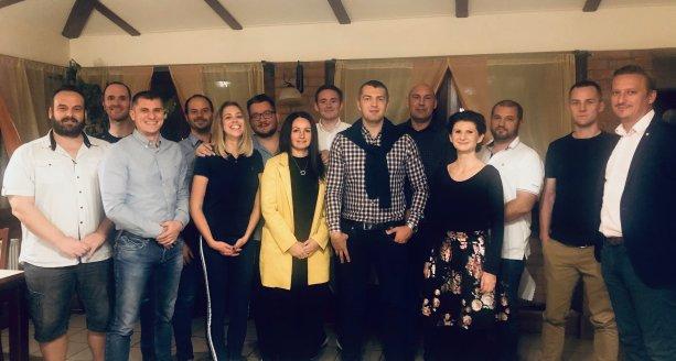 Stretnutie Maďarskej platformy PS/Spolu v Kolárove (september 2019)
