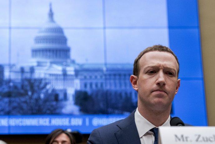Riaditeľ Facebooku Mark Zuckerberg. Foto – TASR/AP